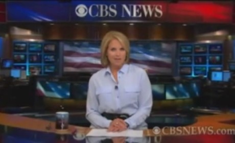Katie Couric Signs Off CBS