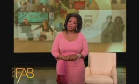 Oprah Says Goodbye