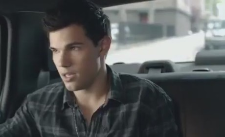 Taylor Lautner MTV Movie Awards Ad