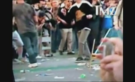 Vancouver Fan Takes Grenade to the Crotch