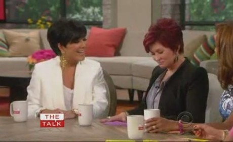 Kris Jenner on The Talk