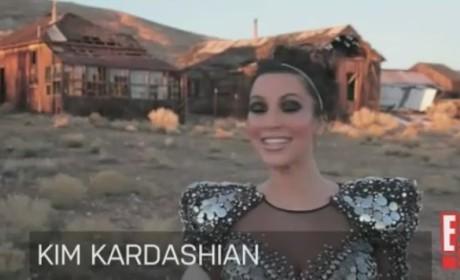 Kim Kardashian 3D Cover Shoot