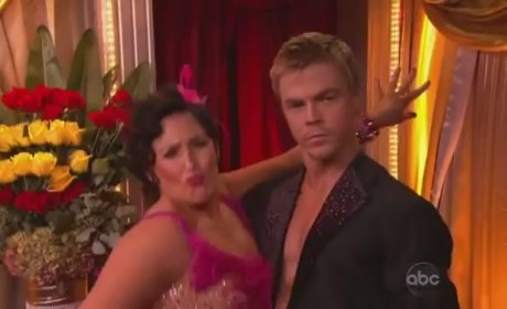 Ricki Lake on Dancing With the Stars (Week 2)