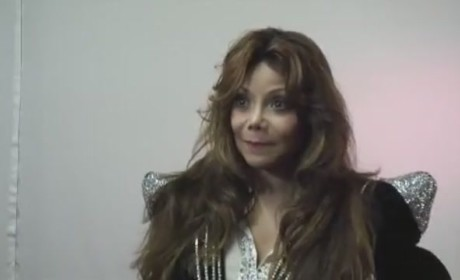 La Toya Jackson at the Michael Forever Concert