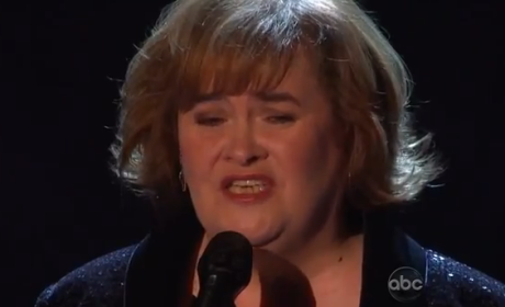 Susan Boyle - Unchained Melody (DWTS Performance)