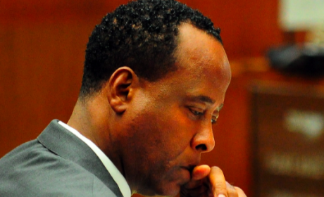 Dr. Conrad Murray: Praying