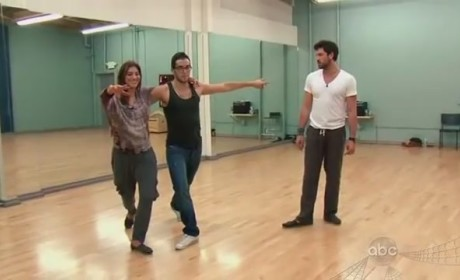 Hope Solo on Dancing With the Stars (Week 7)