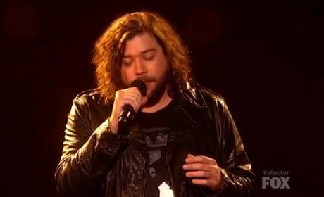 "Josh Krajcik Opens ""Jar of Hearts"" on The X Factor"