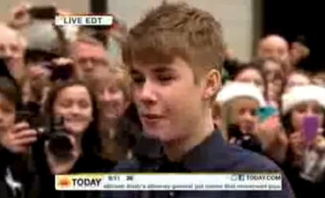 Justin Bieber Today Show Interview