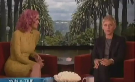 "Katy Perry Debuts ""The One That Got Away"" Video on Ellen: Watch Now!"