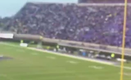 Streaker Falls, Injures Self at ECU Game