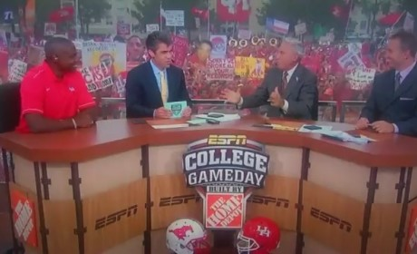 Lee Corso Drops F-Bomb on College GameDay