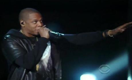 Kanye West and Jay-Z Victoria's Secret Fashion Show Performance