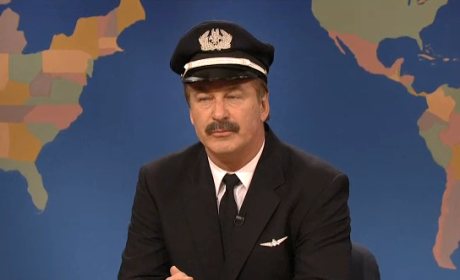 Alec Baldwin on SNL Weekend Update