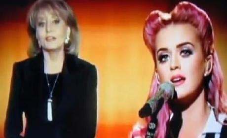 Katy Perry Interview with Barbara Walters: Reflections on a Fascinating Year