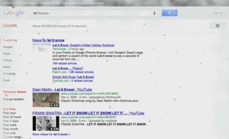 Let it Snow on Google