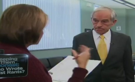 Ron Paul Walks Off CNN Interview, Irritated By New Questions About Old Newsletters