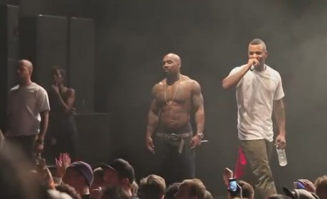 The Game Threatens to Fight Bottle-Throwing Fan ... Live in Concert!