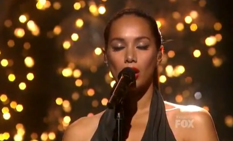 Leona Lewis - Run (The X Factor Finale)