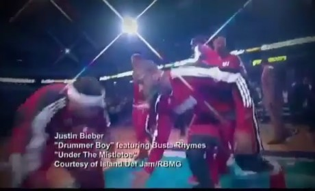 Justin Bieber NBA Promo
