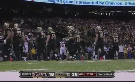 Drew Brees Sets NFL Single-Season Passing Record (VIDEO)