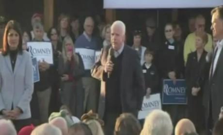 McCain Mixes Up Obama, Romney
