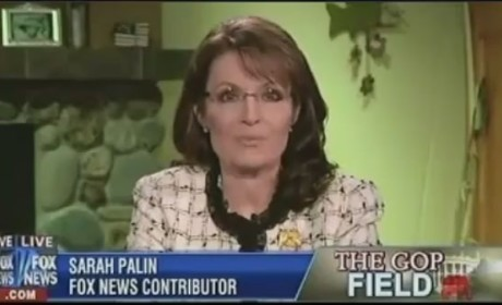 "Sarah Palin Lays Into ""Unscrupulous, Gimmicky Thuggery"" of ""Obama Ticket Machine"""