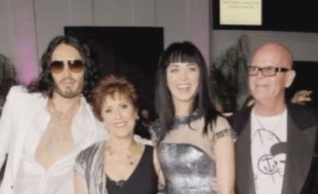 Katy Perry With Her Parents