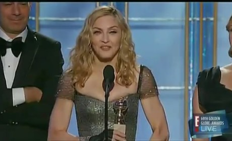 David Furnish on Madonna Golden Globe Win: F--k Off!