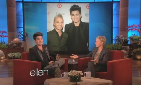 Adam Lambert Ellen Interview: About That Fight...