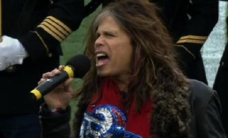 Steven Tyler National Anthem Performance: Yay or Nay?