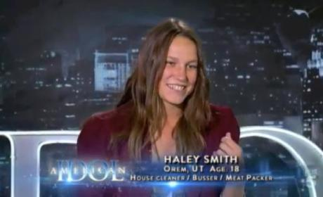 Haley Smith American Idol Audition