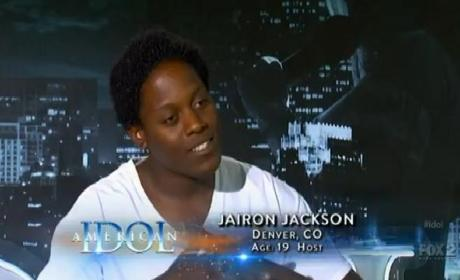 Jairon Jackson American Idol Audition
