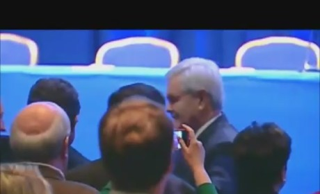 Newt Gingrich Enters to Eye of the Tiger