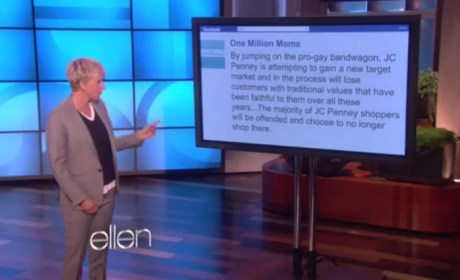 Ellen DeGeneres Responds to JC Penney Protest, Lists Her Traditional Values