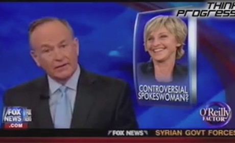 "Bill O'Reilly Defends Ellen DeGeneres, JC Penney Against Conservative ""Witch Hunt"""