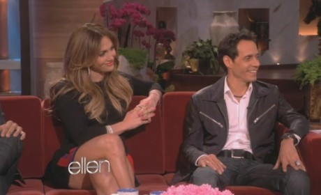 Jennifer Lopez and Marc Anthony on Ellen: Totes Friends!