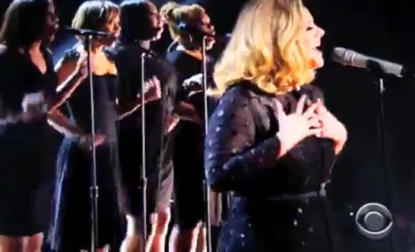 Adele Grammy Awards Performance: Watch Now!