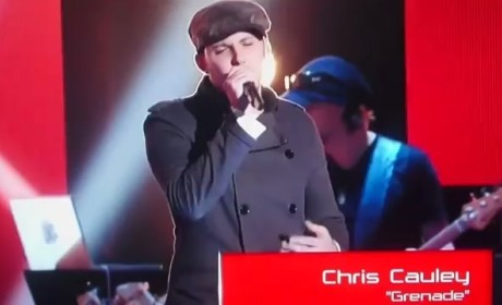 Chris Cauley - Grenade (The Voice Audition)