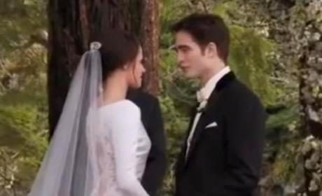 Breaking Dawn Wedding Sneak Peek: Behind the Scenes
