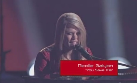 Nicolle Galyon - You Save Me (The Voice Audition)