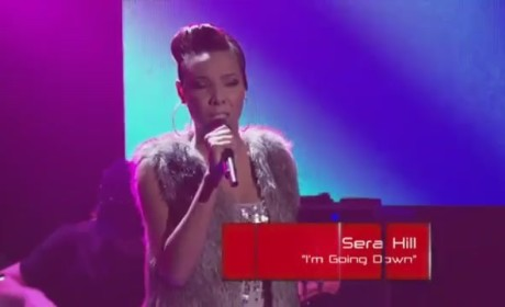 Sera Hill - I'm Going Down (The Voice Audition)
