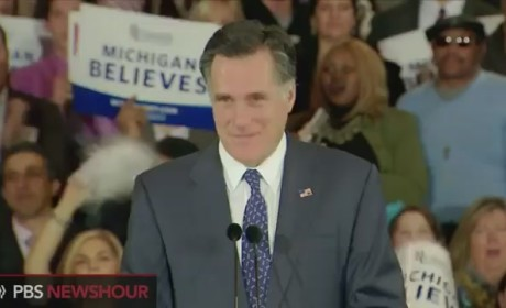 Mitt Romney Michigan Victory Speech