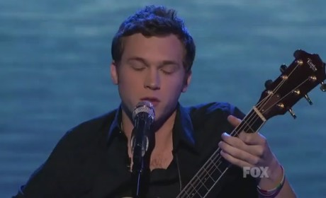 "Phillip Phillips - ""In the Air Tonight"""