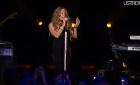 Mariah Carey: The First Post-Baby Performance!