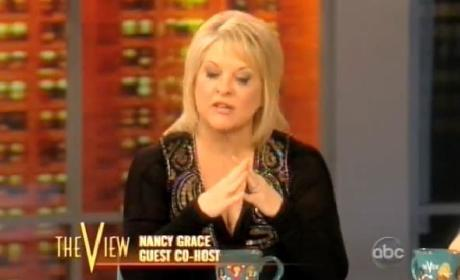 Nancy Grace Battles The View, Continues to Totally Suck