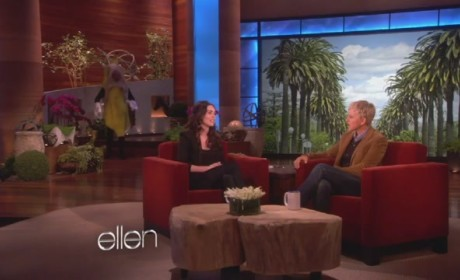 Megan Fox on Ellen: Banana Alert!