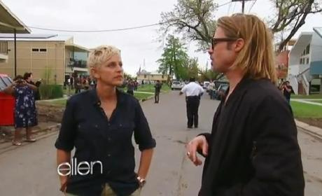 Brad Pitt Takes Ellen DeGeneres on Tour of New Orleans, Make It Right Project
