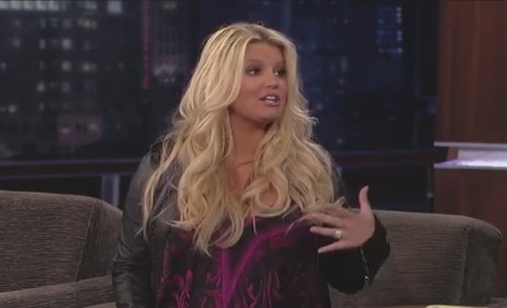 Jessica Simpson on Jimmy Kimmel Live (Part II)