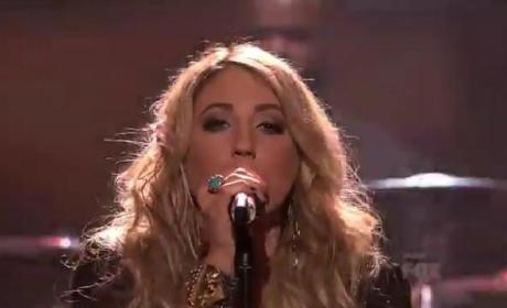 "Elise Testone Showers American Idol with ""Whole Lotta Love"""